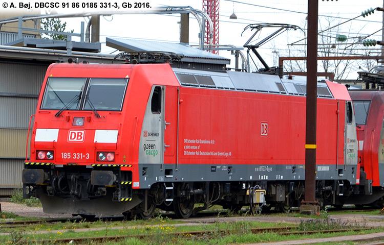 DBCSC  185 331