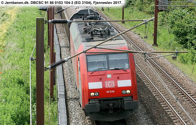 DBCSC EG 3104