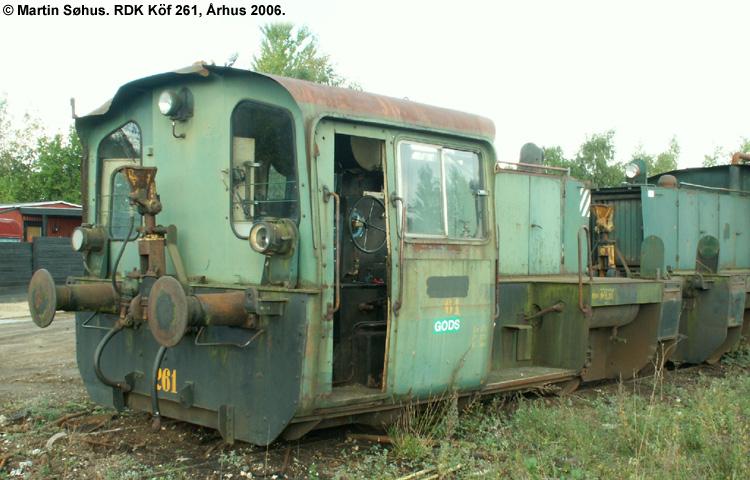 RDK Traktor 261