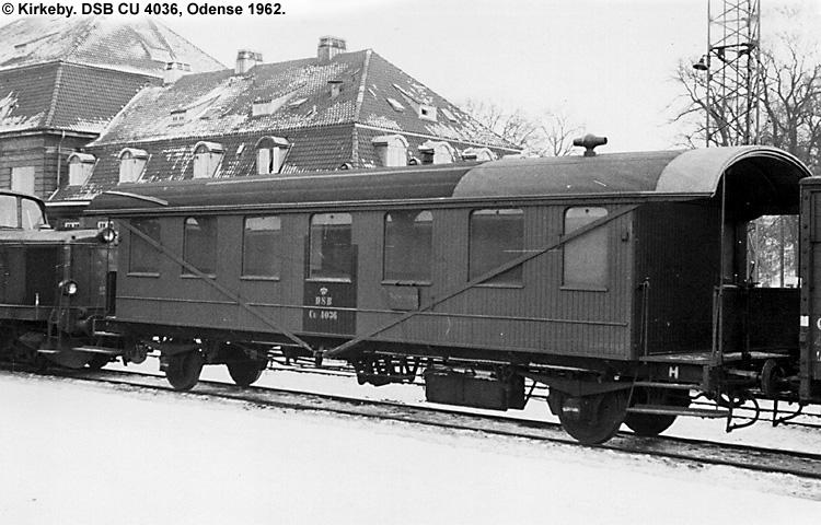 DSB CU 4036