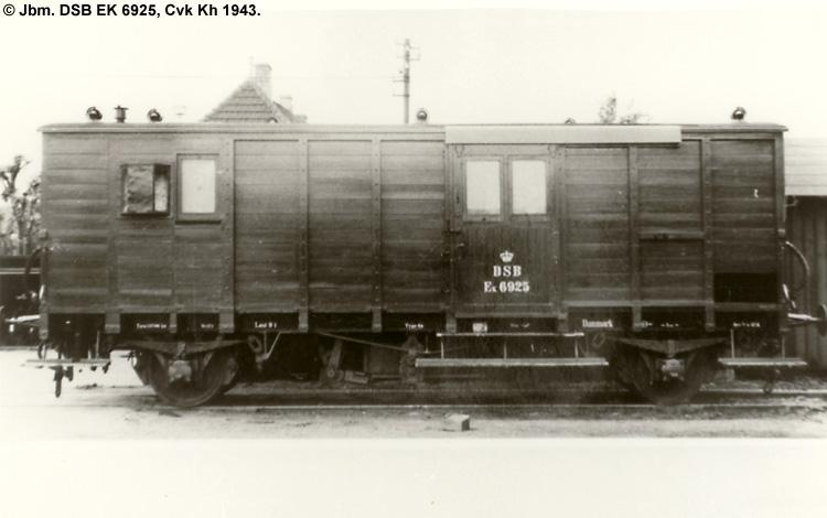 DSB EK 6925