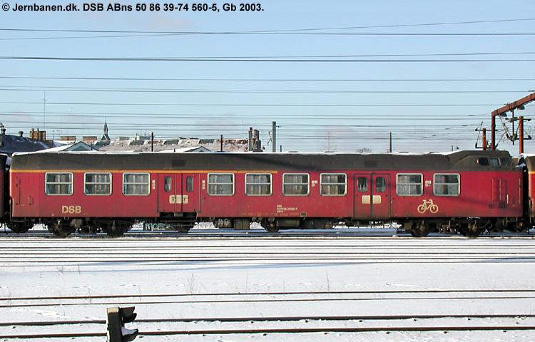 DSB ABns 560