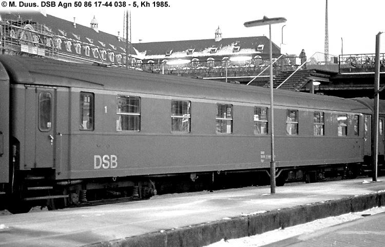 DSB Agn 038