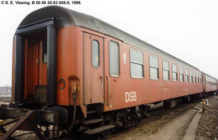 DSB B 058