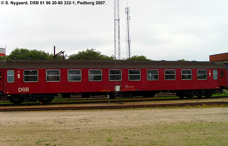 DSB B 332