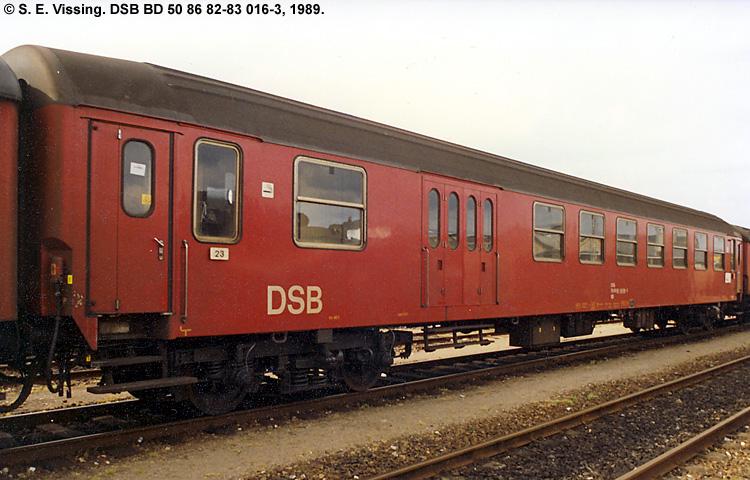 DSB BD 016