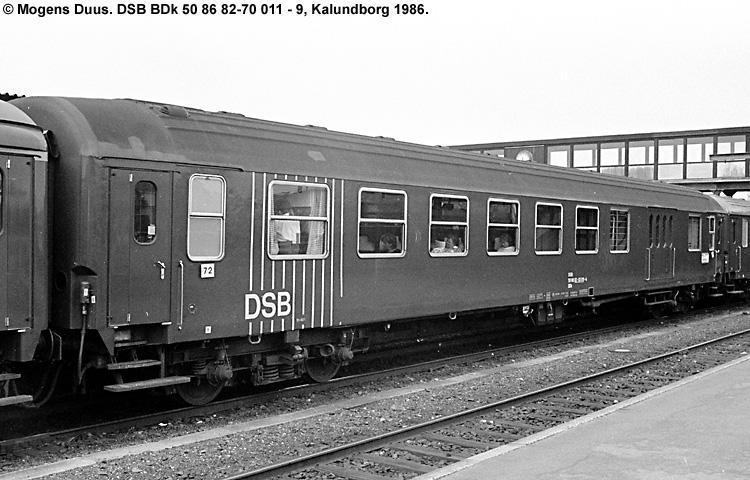 DSB BDk 011