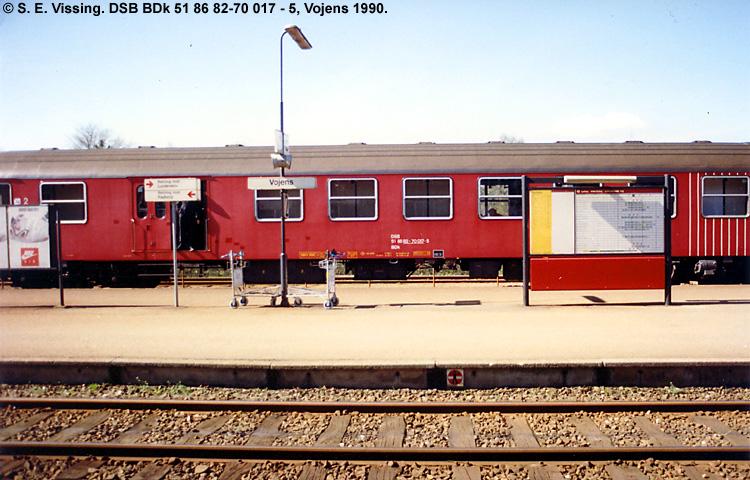 DSB BDk 017