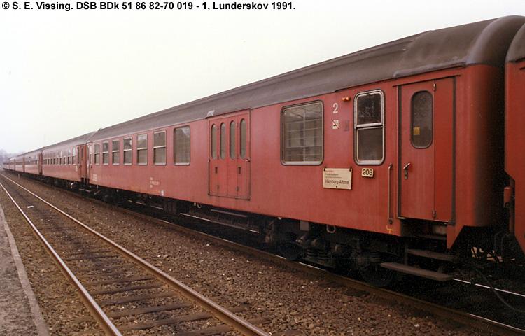 DSB BDk 019