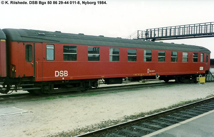 DSB Bgx 011