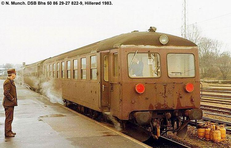 DSB Bhs 822