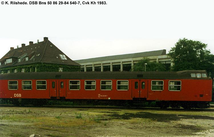 DSB Bns 540