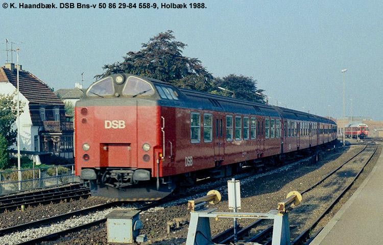 DSB Bns 558