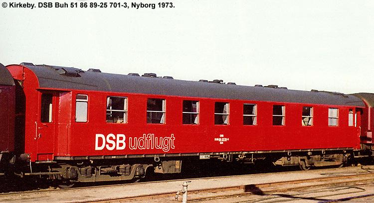 DSB Buh 701