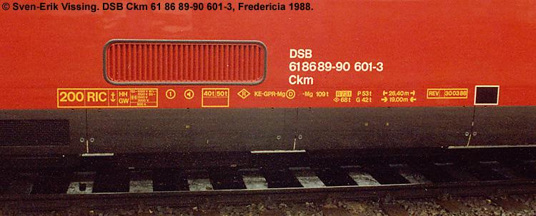 DSB Ckm 601