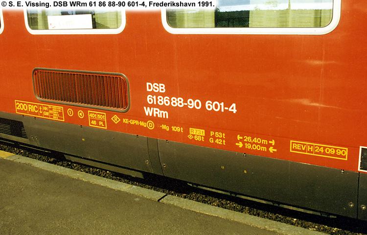DSB WRm 601