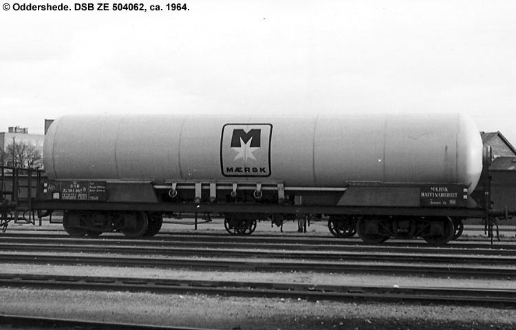Mærsk Raffinaderiet - DSB ZE 504062