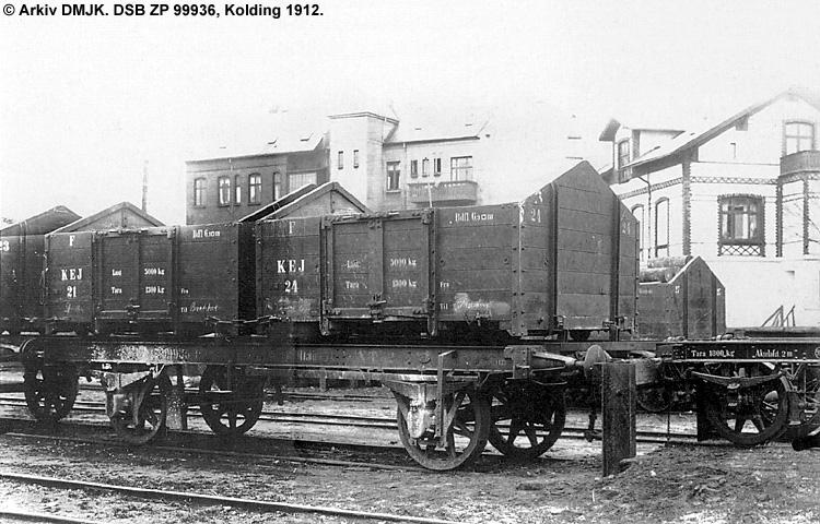Kolding-Egtved Jernbane - DSB ZP 99936