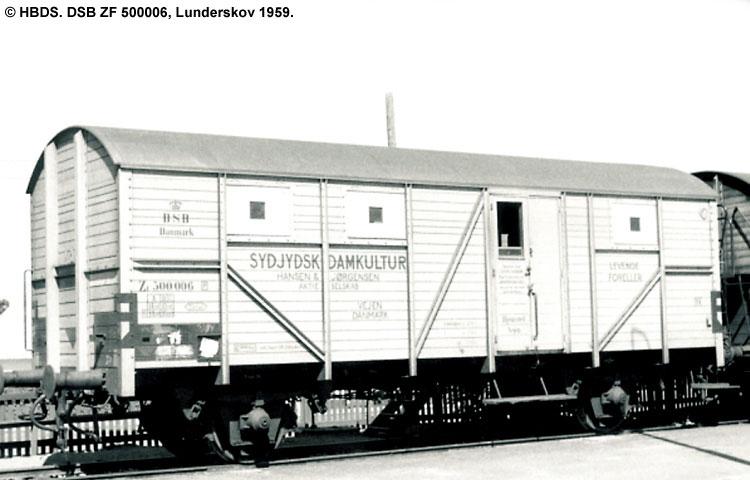 Sydjysk Damkultur - DSB ZF 500006