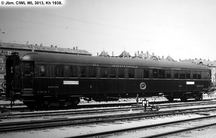Dsb wl 3013 tilh rende ciwl compagnie internationale des - Compagnie des wagons lits recrutement ...