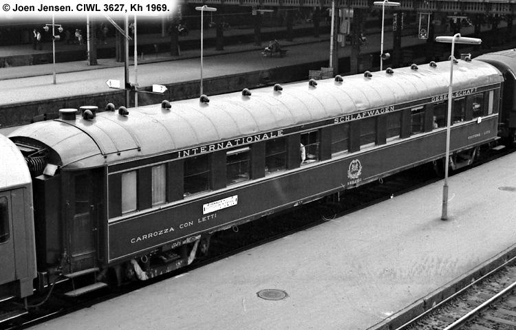 Dsb wl 3627 tilh rende ciwl compagnie internationale des - Compagnie des wagons lits recrutement ...