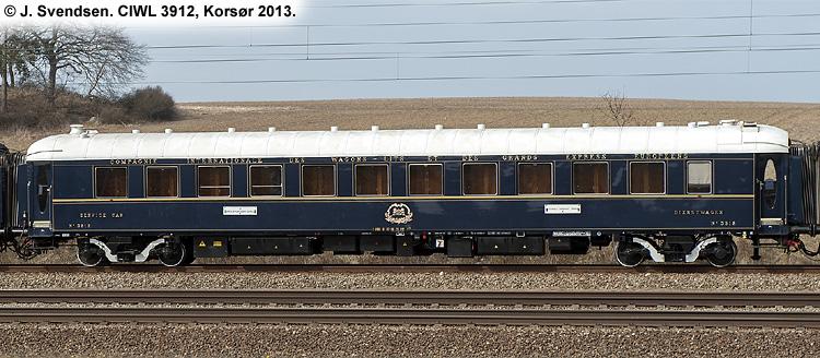 Dsb wl 3912 tilh rende ciwl compagnie internationale des - Compagnie des wagons lits recrutement ...