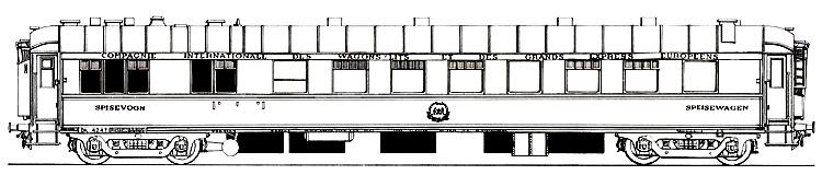 Dsb wr 4243 tilh rende ciwl compagnie internationale des wagons lits - Compagnie des wagons lits recrutement ...