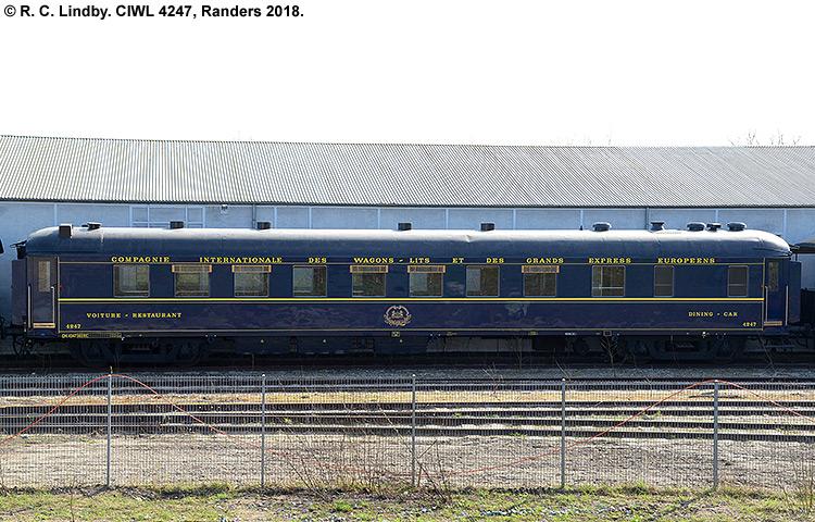 CIWL - Compagnie Internationale des Wagons-Lits - DSB WR 4247