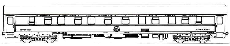 Dsb wl 4615 tilh rende ciwl compagnie internationale des wagons lits - Compagnie des wagons lits recrutement ...