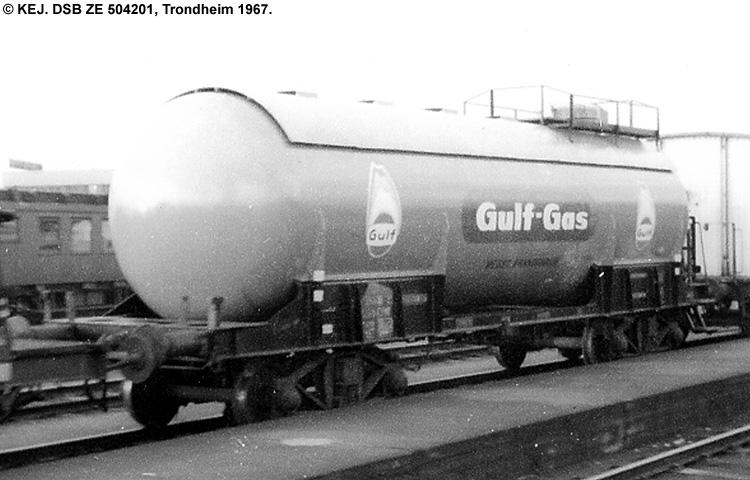 Nordisk Gulf-Gas A/S - DSB ZE 504201