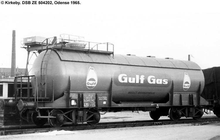 Nordisk Gulf-Gas A/S - DSB ZE 504202