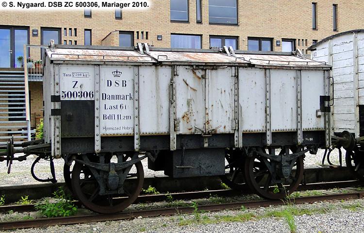 Blåkilde Mølles Fabrikker A/S - DSB ZC 500306