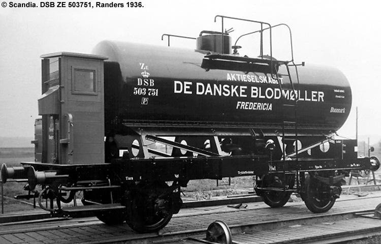 De Danske Blodmøller - DSB ZE 503751