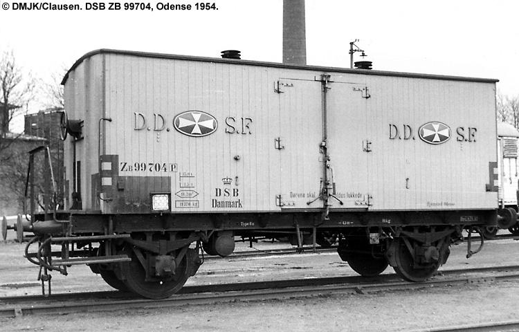 DDSF - De Danske Spritfabrikker A/S - DSB ZB 99704