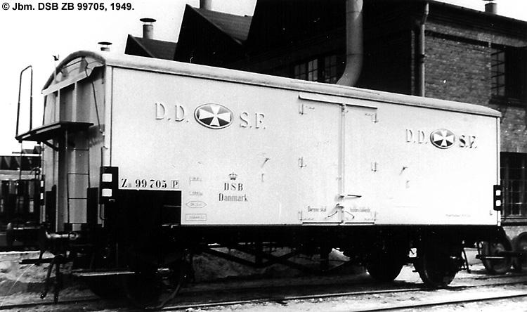DDSF - De Danske Spritfabrikker A/S - DSB ZB 99705