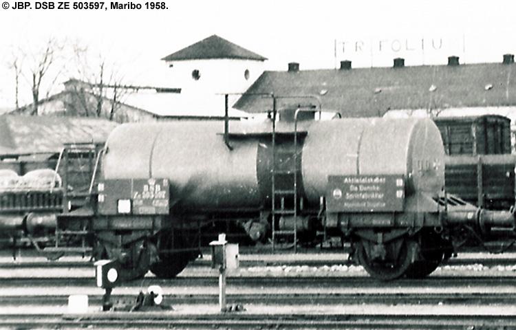 DDSF - De Danske Spritfabrikker A/S - DSB ZE 503597