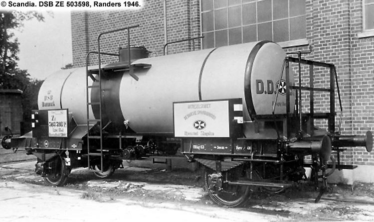 DDSF - De Danske Spritfabrikker A/S - DSB ZE 503598
