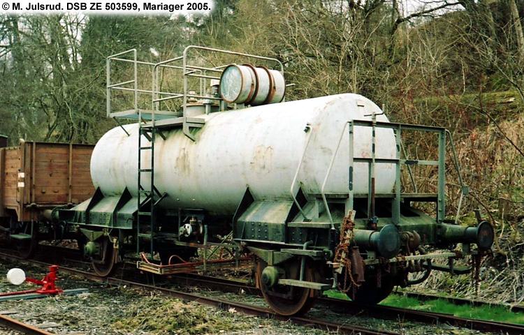DDSF - De Danske Spritfabrikker A/S - DSB ZE 503599