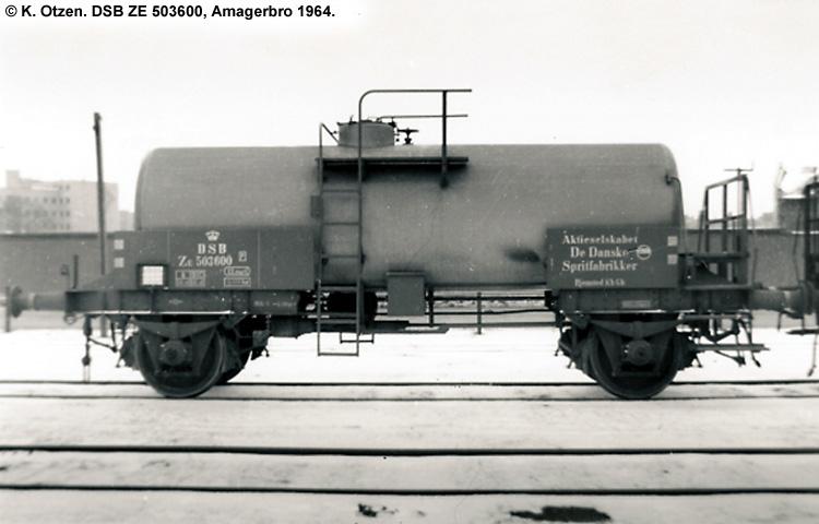 DDSF - De Danske Spritfabrikker A/S - DSB ZE 503600