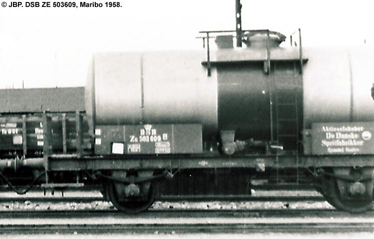 DDSF - De Danske Spritfabrikker A/S - DSB ZE 503609