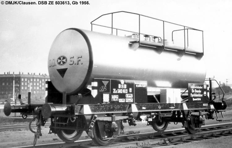 DDSF - De Danske Spritfabrikker A/S - DSB ZE 503613