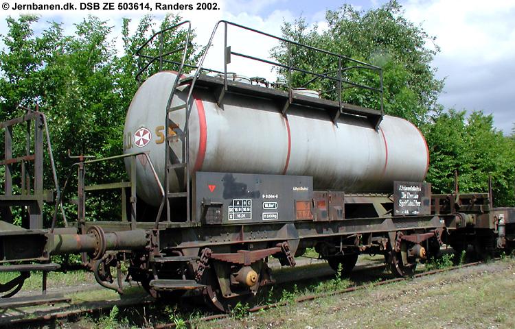 DDSF - De Danske Spritfabrikker A/S - DSB ZE 503614