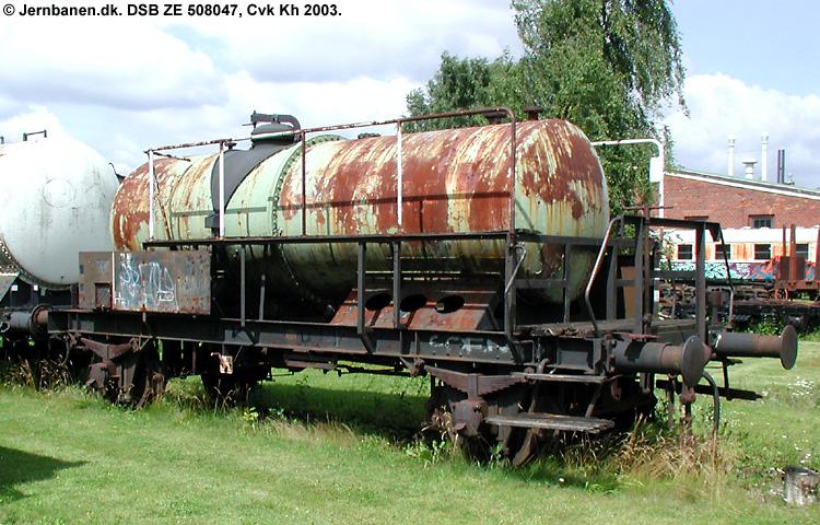 DSSF - Dansk Svovlsyre- og Superphosphatfabrik A/S - DSB ZE 508047