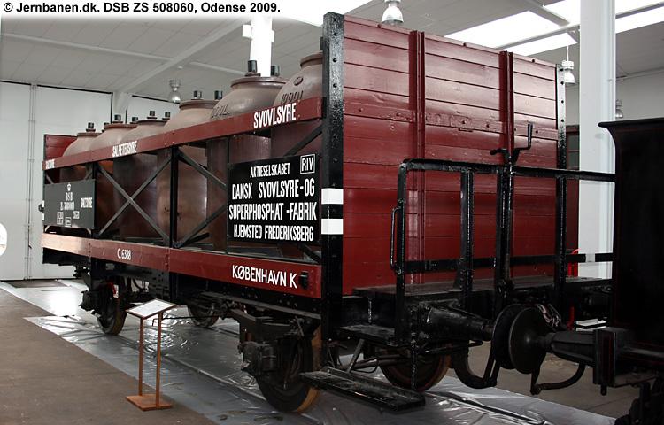 DSSF - Dansk Svovlsyre- og Superphosphatfabrik A/S - DSB ZS 508060