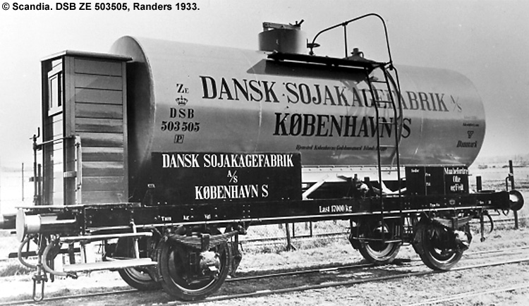 Dansk Sojakagefabrik A/S - DSB ZE 503505