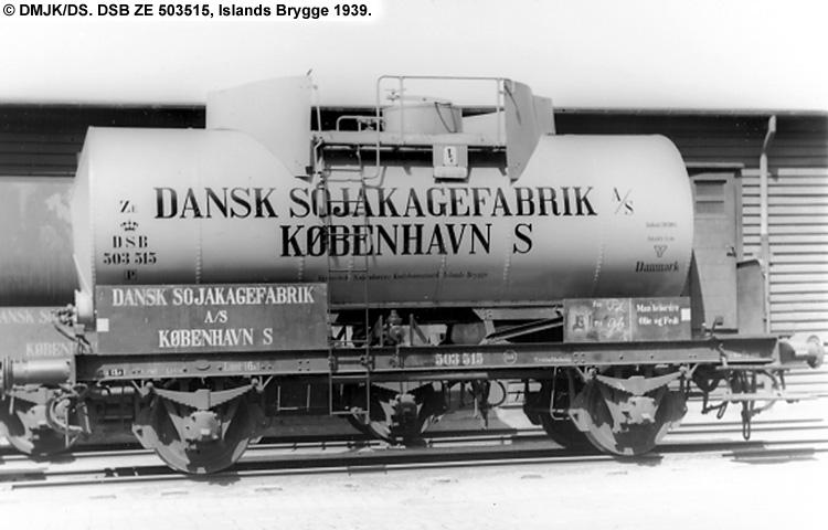 Dansk Sojakagefabrik A/S - DSB ZE 503515