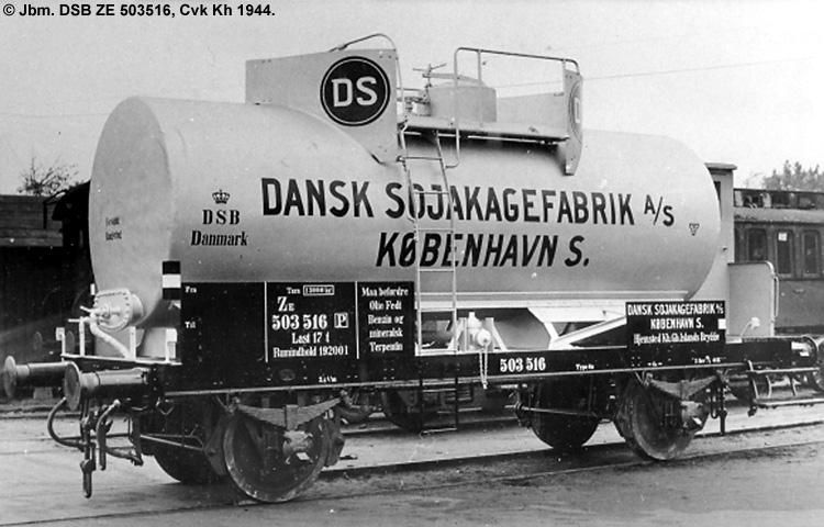Dansk Sojakagefabrik A/S - DSB ZE 503516