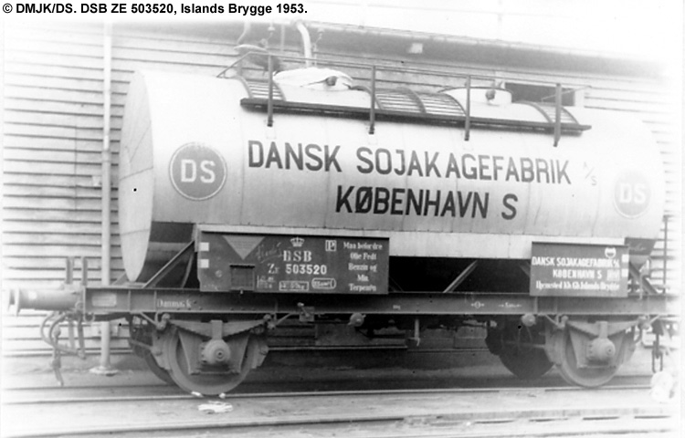 Dansk Sojakagefabrik A/S - DSB ZE 503520