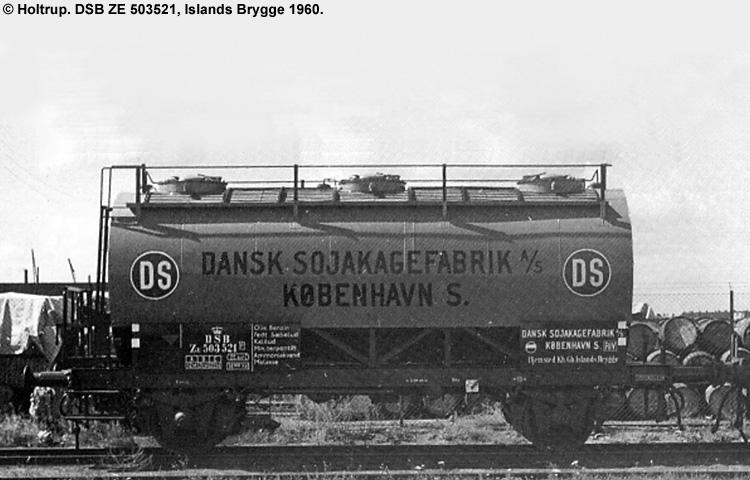 Dansk Sojakagefabrik A/S - DSB ZE 503521
