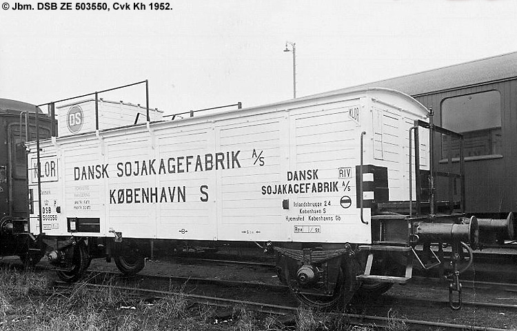 Dansk Sojakagefabrik A/S - DSB ZE 503550